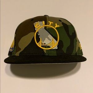 New Era Golden State Warriors Camo Hat